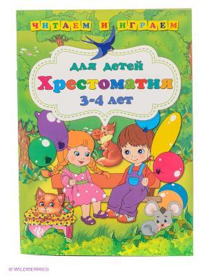 Хрестоматия для детей 3-4 лет Феникс-Премьер. Цвет: зеленый