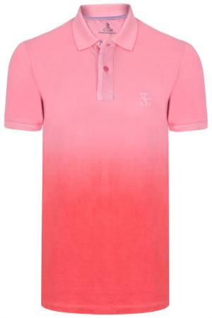 Рубашка-поло GIORGIO DI MARE. Цвет: розовый