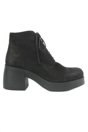 Ботинки Sandm. Цвет: черный