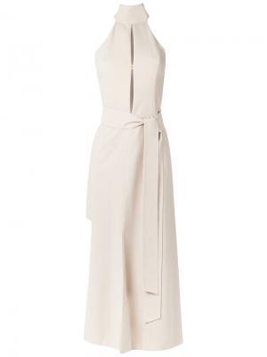 Lace up dress Giuliana Romanno. Цвет: none
