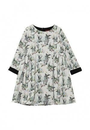 Платье Catimini. Цвет: зеленый