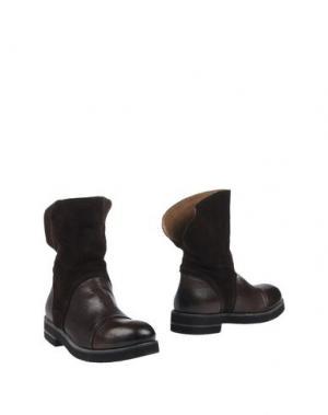Полусапоги и высокие ботинки CHIARINI BOLOGNA. Цвет: темно-коричневый