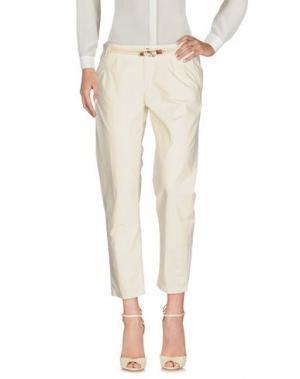 Повседневные брюки FRANKLIN & MARSHALL. Цвет: светло-серый
