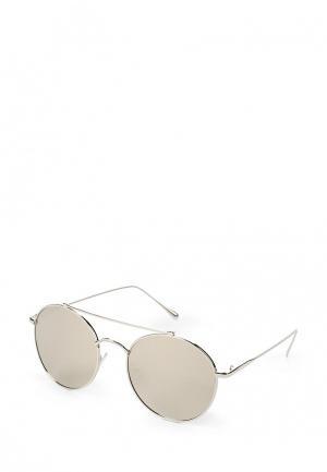 Очки солнцезащитные Kameo-Bis. Цвет: серебряный