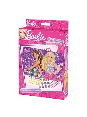 Чудо -Творчество. Barbie Мозаика  -сингл Чудо-творчество. Цвет: фиолетовый, розовый, желтый