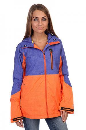 Ветровка женская  Wb Berkley Jkt Royal Blue Burton. Цвет: синий,оранжевый