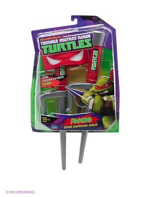Боевое снаряжение Рафаэля Playmates toys. Цвет: серый, красный