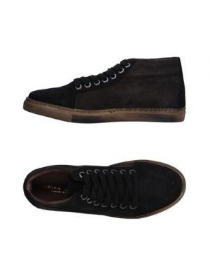 Высокие кеды и кроссовки BRIAN DALES. Цвет: черный