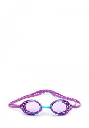 Очки для плавания Speedo. Цвет: фиолетовый