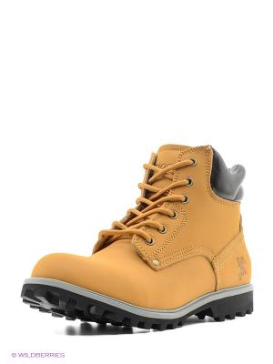 Ботинки Ascot. Цвет: рыжий