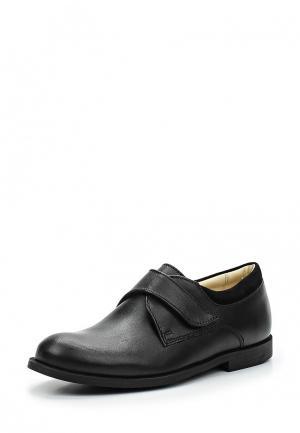 Туфли Paulo B. Цвет: черный