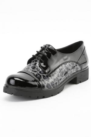 Туфли Almare. Цвет: черный, серый