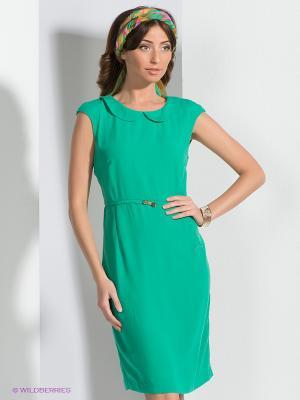 Платье QUIOSQUE. Цвет: зеленый