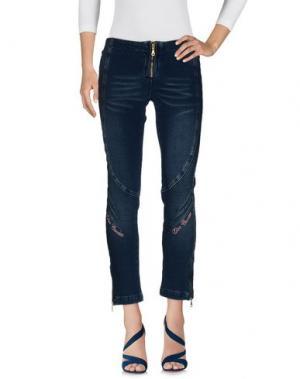Джинсовые брюки DANIELA DALLA VALLE ELISA CAVALETTI. Цвет: синий