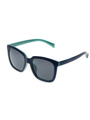 Солнцезащитные очки Pretty Mania. Цвет: темно-синий,зеленый