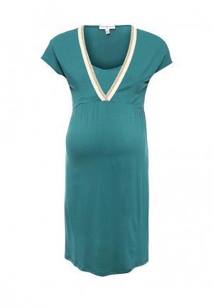 Платье Envie de Fraise. Цвет: бирюзовый