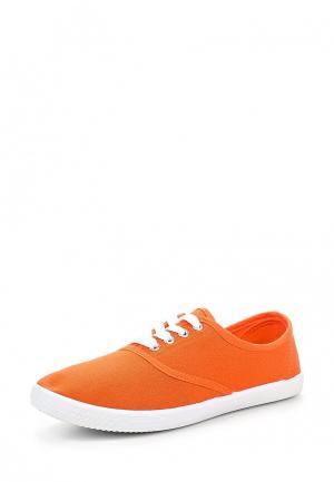 Кеды Ideal. Цвет: оранжевый
