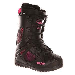 Ботинки для сноуборда женские  Z Tm-two Black Thirty Two. Цвет: черный,розовый