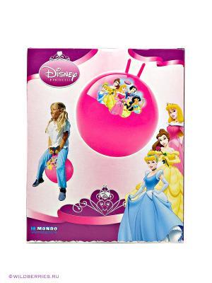 Мяч - попрыгунчик Дисней. Принцесса Mondo. Цвет: розовый (осн.)