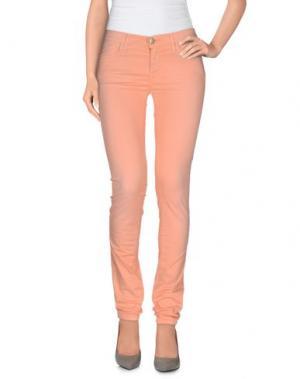 Повседневные брюки 0/ZERO CONSTRUCTION. Цвет: лососево-розовый