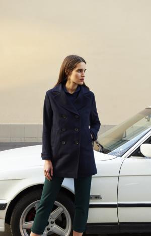 Пальто Синее Trends Brands Base
