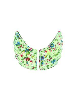 Декоративные крылья для кроссовок Wings for Shoes Donkey. Цвет: зеленый, красный, желтый, синий