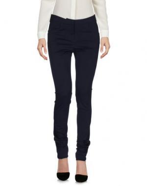 Повседневные брюки LIVIANA CONTI. Цвет: темно-синий