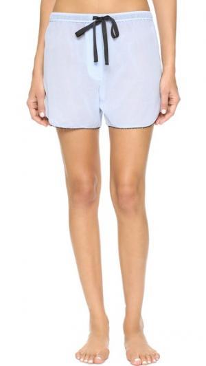 Пижамные шорты Lucia Bea Morgan Lane. Цвет: небесный