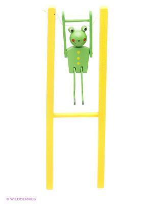 Деревянная игрушка Марионетка Фабрика Фантазий. Цвет: желтый