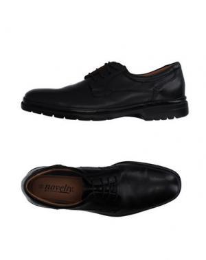 Обувь на шнурках NOVELTY. Цвет: черный