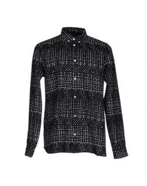 Pубашка SUIT. Цвет: черный