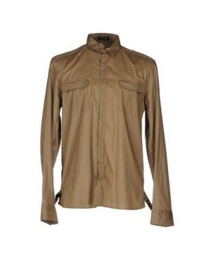 Pубашка COSTUME NATIONAL HOMME. Цвет: песочный