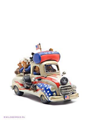 Машина USA Road Trip The Comical World of Stratford. Цвет: серый, красный, синий