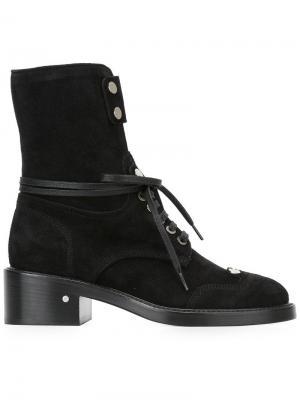 Ботинки Manu Laurence Dacade. Цвет: чёрный