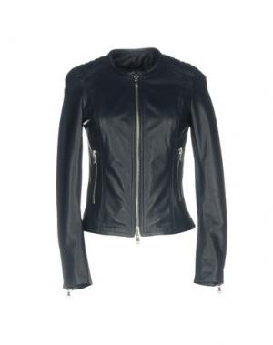 Куртка ALBERTO MORETTI. Цвет: темно-синий