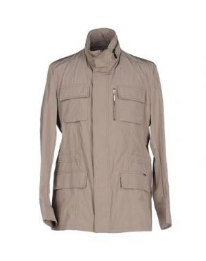 Куртка MOORER. Цвет: голубиный серый