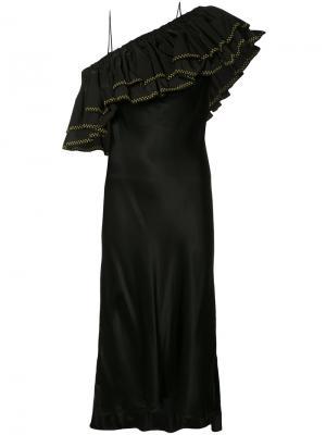 Peplum dress Ellery. Цвет: чёрный