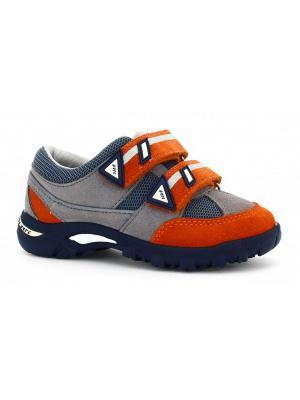 Ботинки Bartek. Цвет: серый, оранжевый