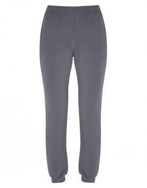 Однотонные брюки Laain. Цвет: серый