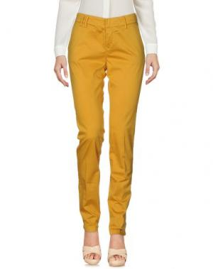 Повседневные брюки ROMANO RIDOLFI. Цвет: желтый