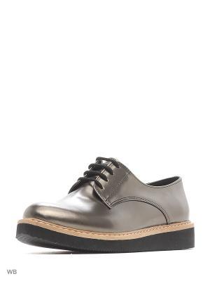 Ботинки Dimenni. Цвет: серый