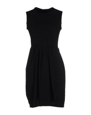Короткое платье AQUILANO-RIMONDI. Цвет: черный