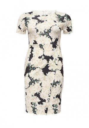 Платье Just Joan. Цвет: разноцветный