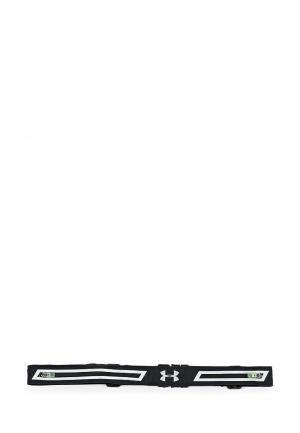 Пояс для бега Under Armour. Цвет: черный
