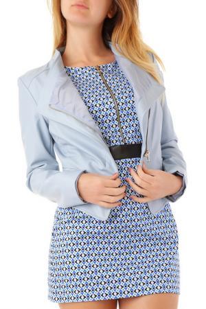 Куртка Cristina Gavioli. Цвет: голубой