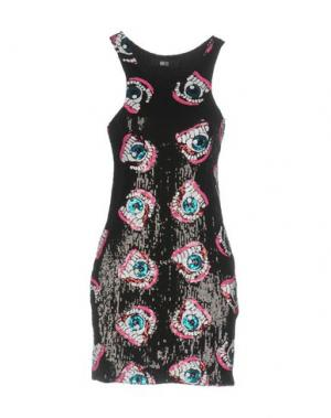 Короткое платье IRON FIST. Цвет: черный