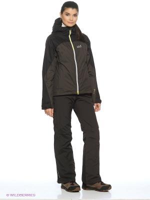 Куртка FIREBOW TEXAPORE JKT W Jack Wolfskin. Цвет: темно-серый