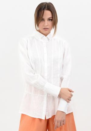 Блуза Lino Russo. Цвет: белый
