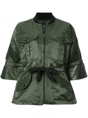 Oversized jacket Marissa Webb. Цвет: зелёный