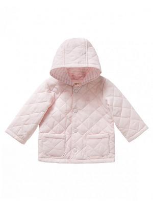 Куртка United Colors of Benetton. Цвет: сиреневый, бледно-розовый, серебристый